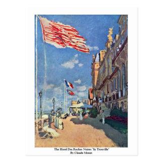 "The Hotel Des Roches Noires ""In Trouville"" Postcard"