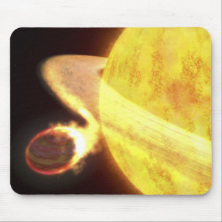 The hottest known planet in the Milky Way Mouse Pad