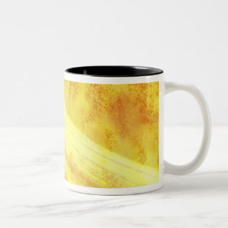 The hottest known planet in the Milky Way Two-Tone Coffee Mug