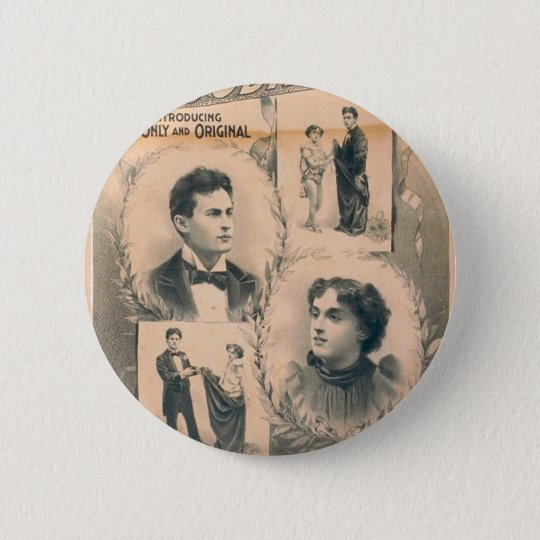 The Houdinis, 'Metamorphosis change in 3 seconds' Button