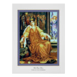 The Hour Glass ~ Evelyn De Morgan Posters