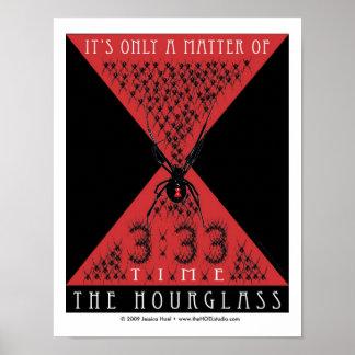The Hourglass Print