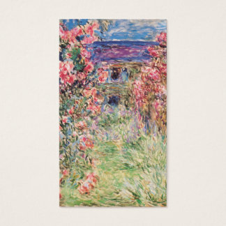 The House among the Roses, Claude Monet Business Card