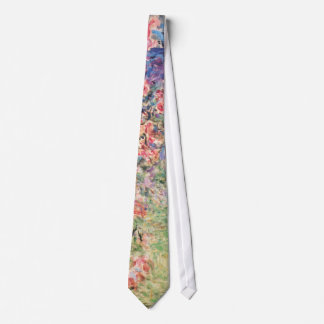The House among the Roses, Claude Monet Neck Tie