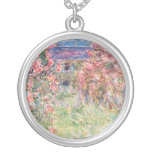 The House among the Roses, Claude Monet Custom Jewelry