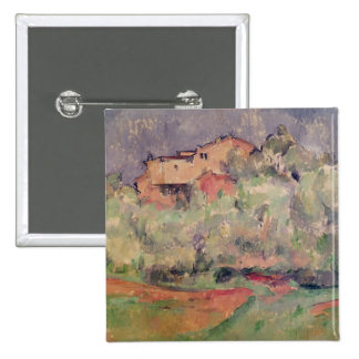 The House at Bellevue, 1888-92 2 Inch Square Button