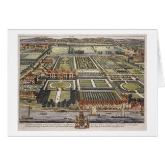 The House at Chelsea in the county of Middlesex en Greeting Card