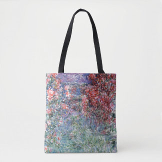 The House at Giverny under the Roses, 1925 Tote Bag