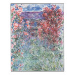 The House at Giverny under the Roses, 1925 Wood Wall Art