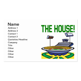The House Double-Sided Standard Business Cards (Pack Of 100)
