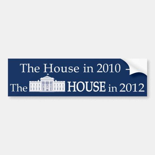 The-House-in-2010 Etiqueta De Parachoque