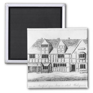 The House in Stratford-upon-Avon Magnet
