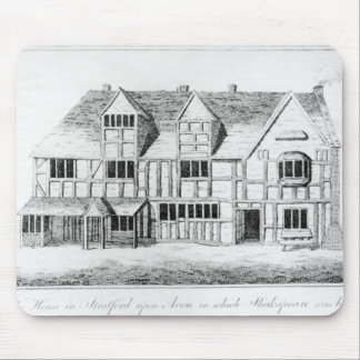 The House in Stratford-upon-Avon Mousepads