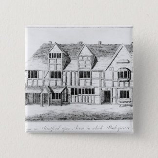 The House in Stratford-upon-Avon Pinback Button