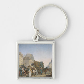 The House Movers, 1840 Keychain