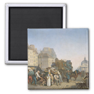 The House Movers, 1840 Magnet