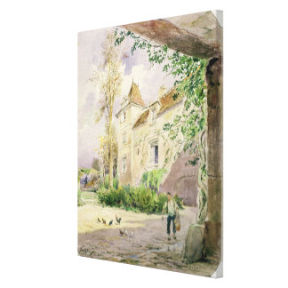 The House of Armande Bejart  in Meudon, c.1906 Canvas Print