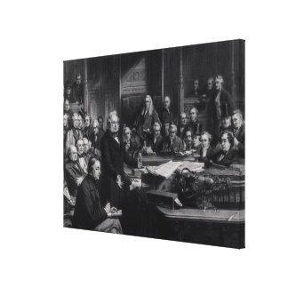 The House of Commons Canvas Print