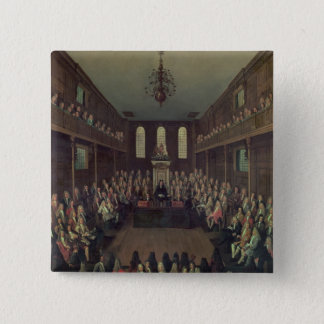 The House of Commons in Session, 1710 Pinback Button
