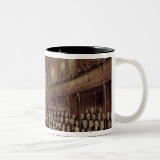 The House of Commons in Session Two-Tone Coffee Mug