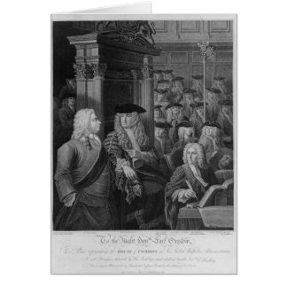 The House of Commons in Walpole's Card