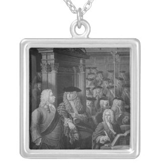 The House of Commons in Walpole's Silver Plated Necklace