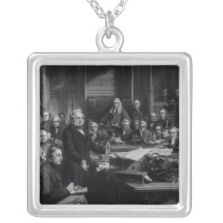 The House of Commons Silver Plated Necklace
