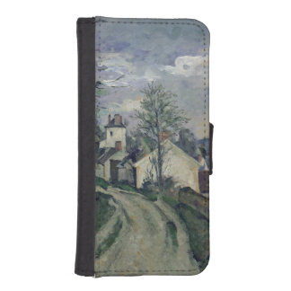 The House of Doctor Gachet  at Auvers, 1872-73 Phone Wallet Case