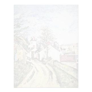 The House Of Dr. Gachet By Paul Cézanne Customized Letterhead