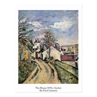 The House Of Dr. Gachet By Paul Cezanne Postcards