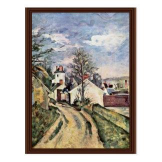 The House Of Dr. Gachet By Paul Cézanne Post Card