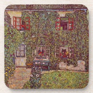 The House of Guard by Gustav Klimt Coasters