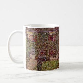 The House of Guard by Gustav Klimt Coffee Mug