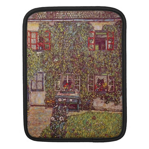 The House of Guard by Gustav Klimt iPad Sleeves