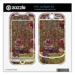 The House of Guard by Gustav Klimt HTC myTouch 4G Decal