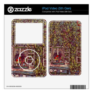 The House of Guard by Gustav Klimt Skin For iPod Video