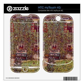 The House of Guard by Gustav Klimt HTC myTouch 4G Decals