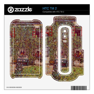 The House of Guard by Gustav Klimt Decals For HTC Tilt 2