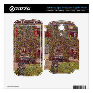 The House of Guard by Gustav Klimt Samsung Epic Decal