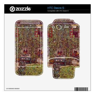 The House of Guard by Gustav Klimt HTC Desire S Skin