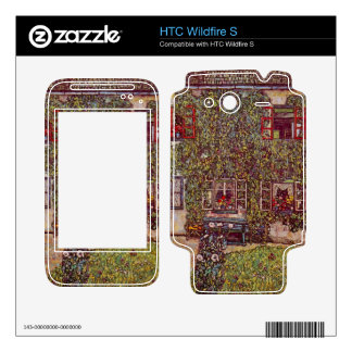 The House of Guard by Gustav Klimt HTC Wildfire S Skins