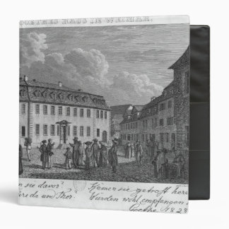 The house of Johan Wolfgang von Goethe  in Binder