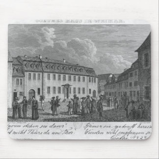 The house of Johan Wolfgang von Goethe  in Mouse Pad