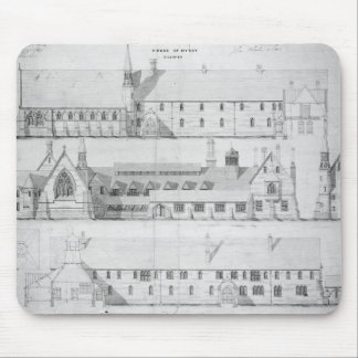 The House of Mercy, Clewer, c.1853 Mouse Pad