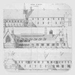 The House of Mercy, Clewer, c.1853 Square Sticker