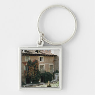 The house of Miguel Cervantes Keychain
