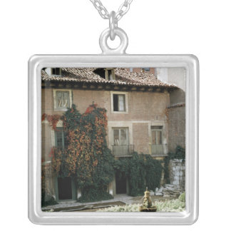 The house of Miguel Cervantes Custom Necklace