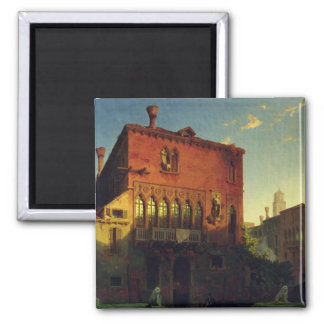 The House of Othello, the Moore in Venice, 1856 Magnet
