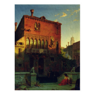 The House of Othello, the Moore in Venice, 1856 Postcard