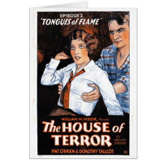 The House of Terror #2 - Tongues of Flame Card